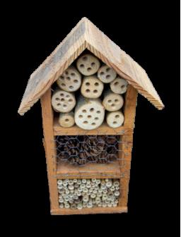 Hôtel à insectes petit format