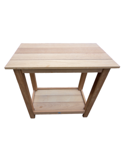 Table en iroko massif sans...